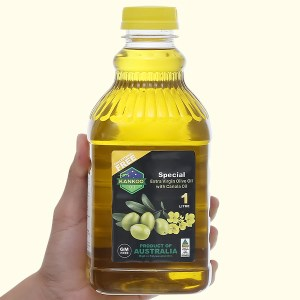 Dầu olive hạt cải Kankoo chai 1 lít