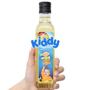 Dầu ăn dinh dưỡng cho bé Kiddy chai 250ml