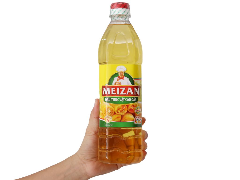 Dầu thực vật cao cấp Meizan chai 1 lít 4