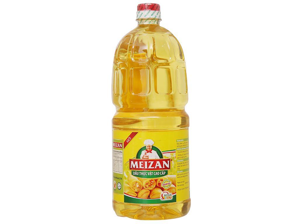 Dầu thực vật cao cấp Meizan chai 2 lít 1