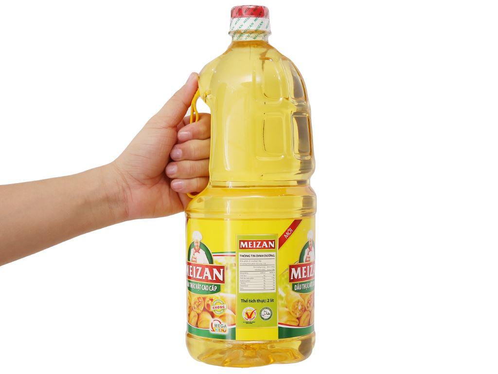 Dầu thực vật cao cấp Meizan chai 2 lít 3