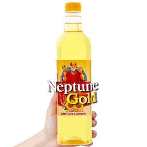 Dầu ăn cao cấp Neptune Gold chai 1 lít