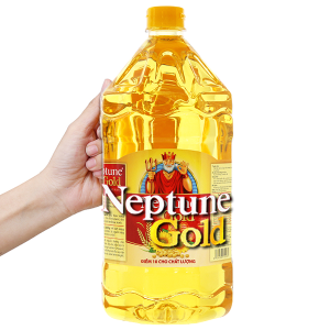 Dầu ăn cao cấp Neptune Gold chai 2 lít