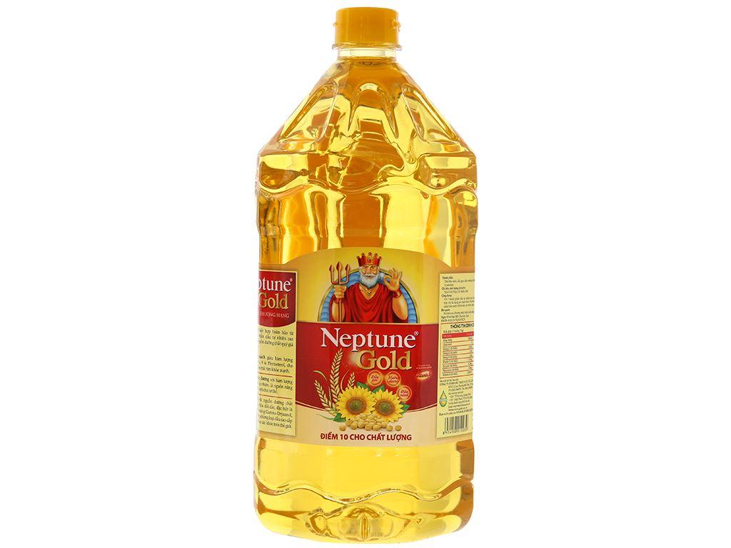 Dầu ăn cao cấp Neptune chai 2 lít 1