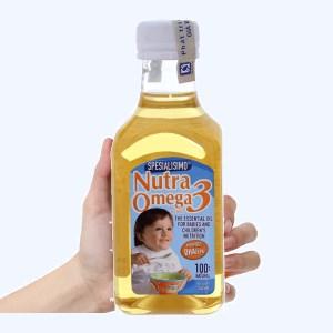 Dầu cá hồi cho bé Nutra Omega 3 chai 240ml