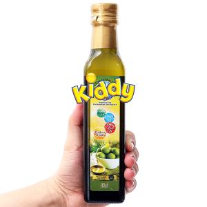Dầu olive cho bé Kiddy chai 250ml