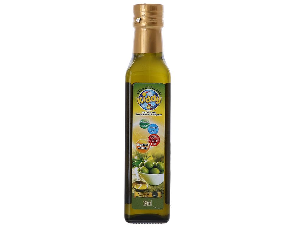 Dầu olive cho bé Kiddy chai 250ml 1