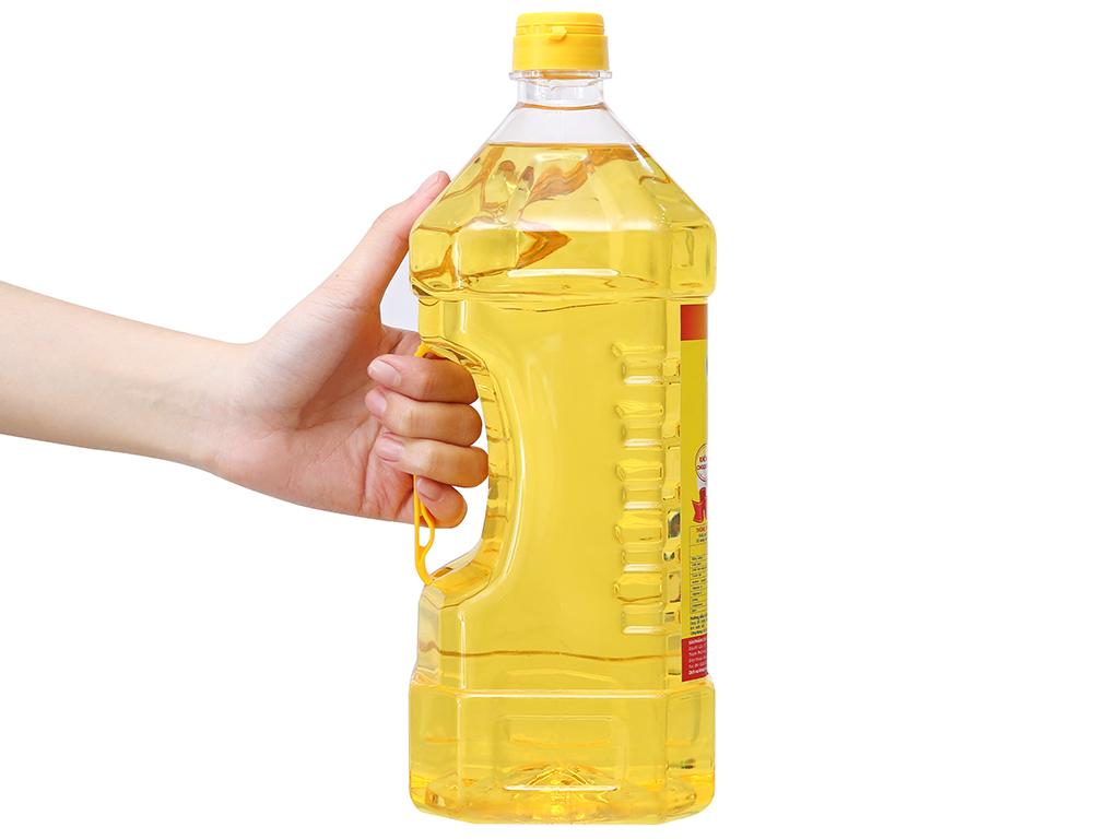 Dầu thực vật Tường An Cooking oil bình 2 lít 3