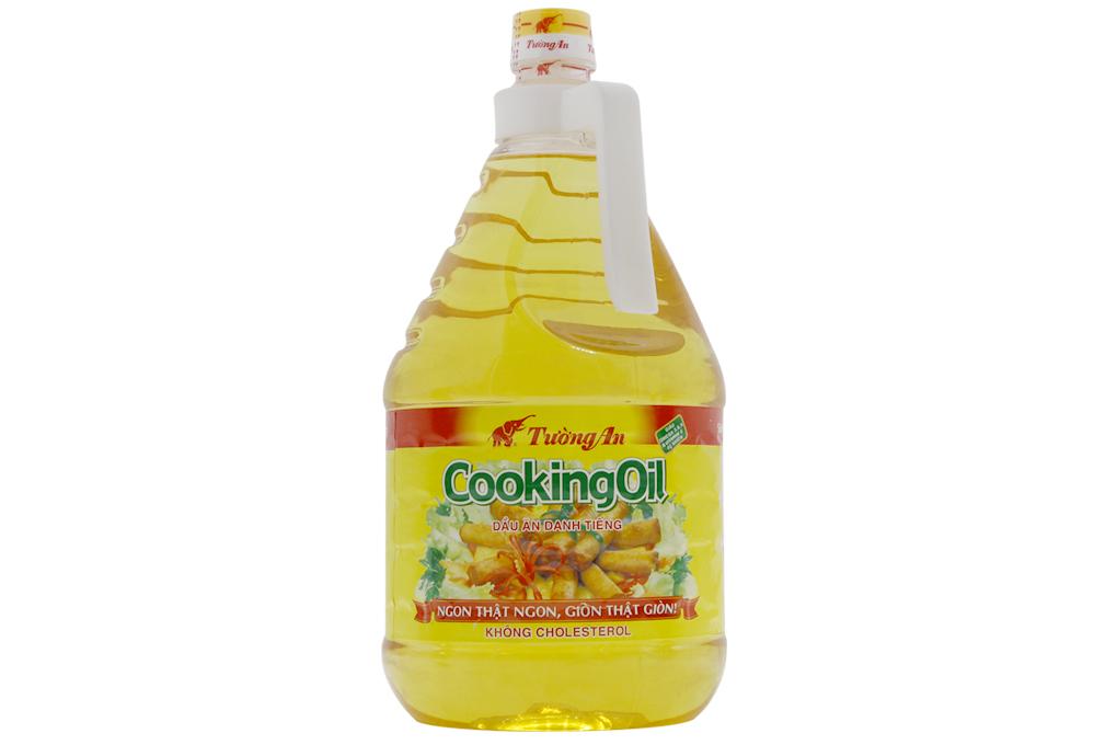 Dầu ăn Tường An Cooking Oil nhãn xanh 2 lít