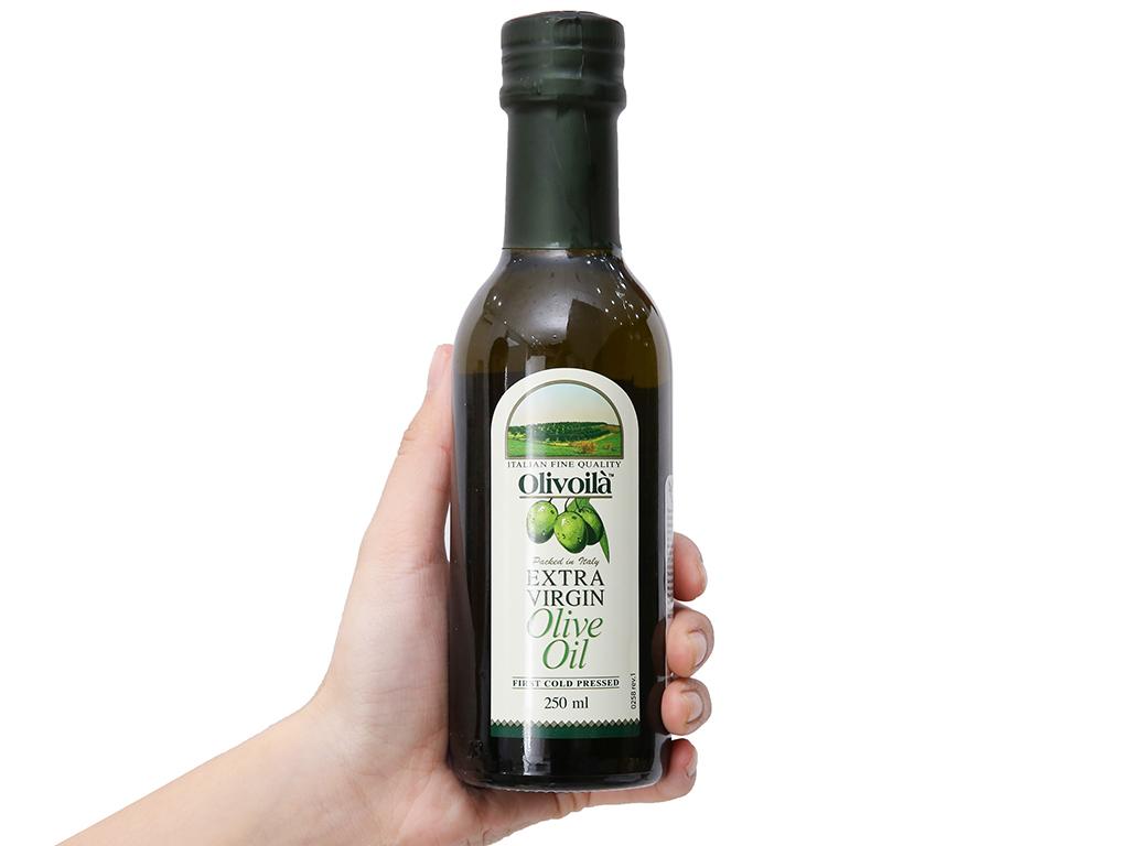 Dầu olive Extra Virgin Olivoilà chai 250ml 3