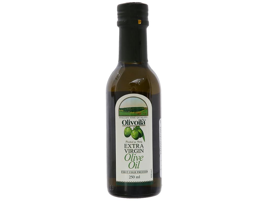 Dầu olive Extra Virgin Olivoilà chai 250ml 1