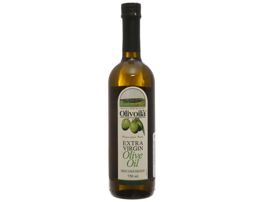 Dầu olive Extra Virgin Olivoilà chai 750ml 1