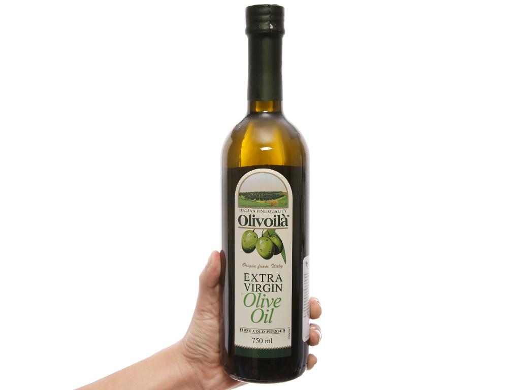Dầu olive Extra Virgin Olivoilà chai 750ml 3