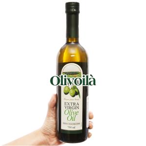 Dầu olive Olivoilà Extra Virgin chai 750ml