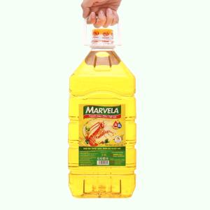 Dầu ăn bổ sung vitamin A & D3 Marvela can 5 lít