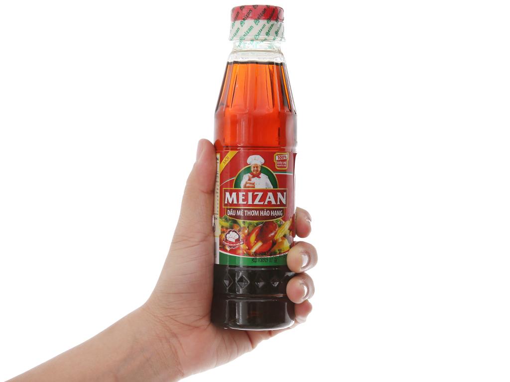 Dầu mè thơm hảo hạng Meizan chai 250ml 4