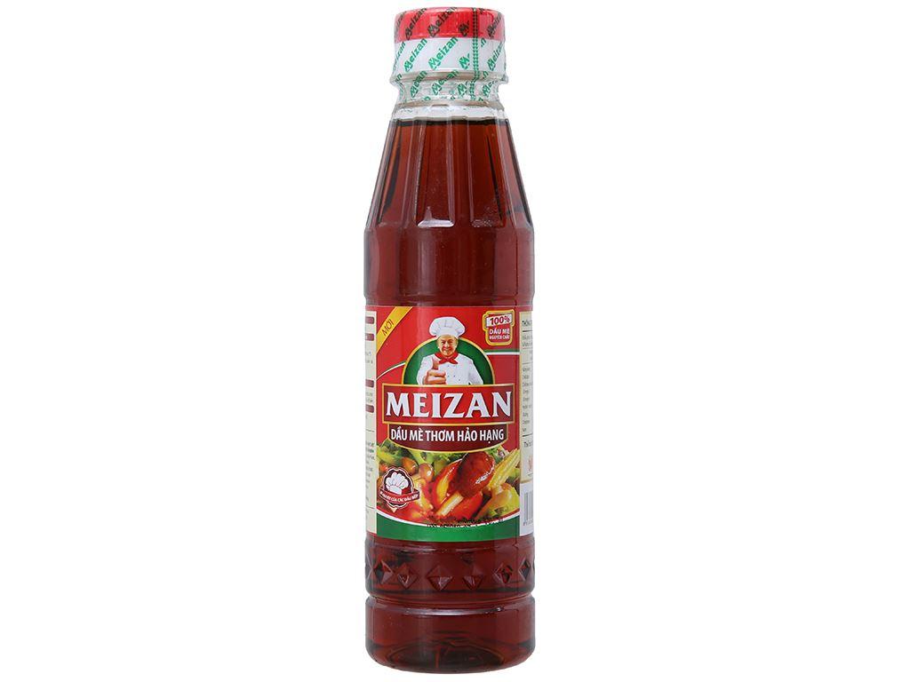 Dầu mè thơm hảo hạng Meizan chai 250ml 1