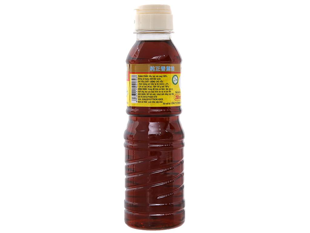 Dầu mè thơm nguyên chất Nakydaco chai 250ml 2