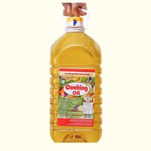 Dầu thực vật Cooking Oil Nutri Plus Nakydaco can 5 lít