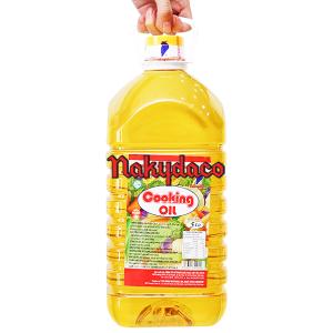 Dầu thực vật tinh luyện Nakydaco Cooking oil bình 5 lít