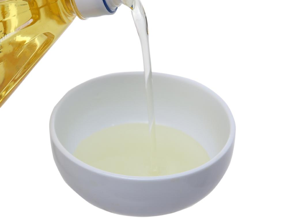 Dầu nành tinh luyện Nakydaco Soya chai 1 lít 4