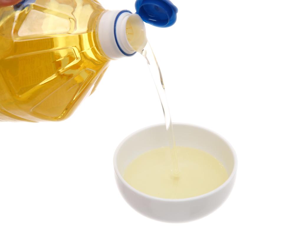 Dầu nành tinh luyện Nakydaco Soya chai 2 lít 4
