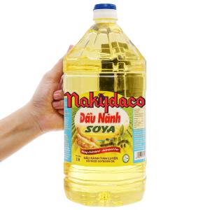 Dầu nành tinh luyện Soya Nakydaco chai 2 lít