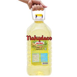 Dầu nành tinh luyện Soya Nakydaco bình 5 lít