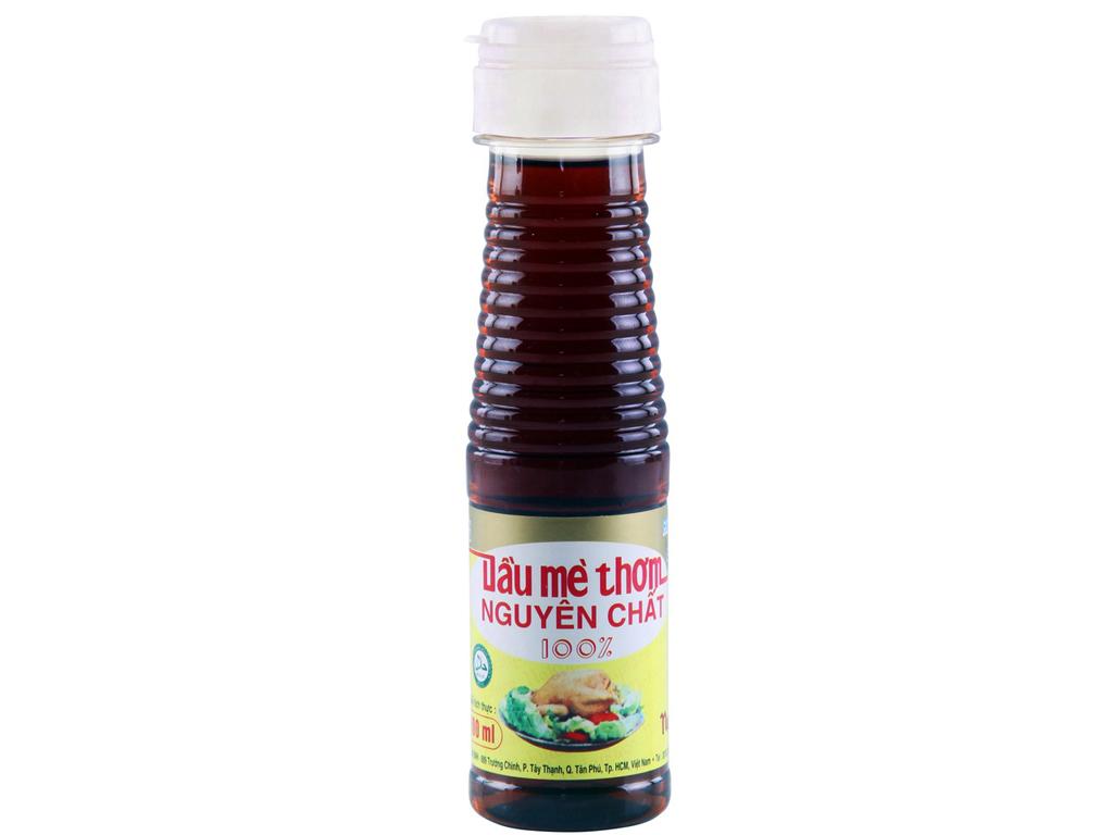 Dầu mè thơm nguyên chất Nakydaco chai 150ml 1