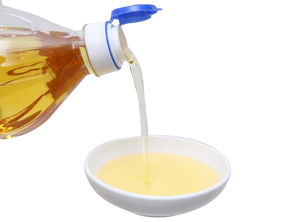 Dầu thực vật hương mè Nakydaco chai 1 lít 4