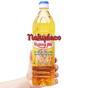 Dầu thực vật Nakydaco hương mè chai 1 lít
