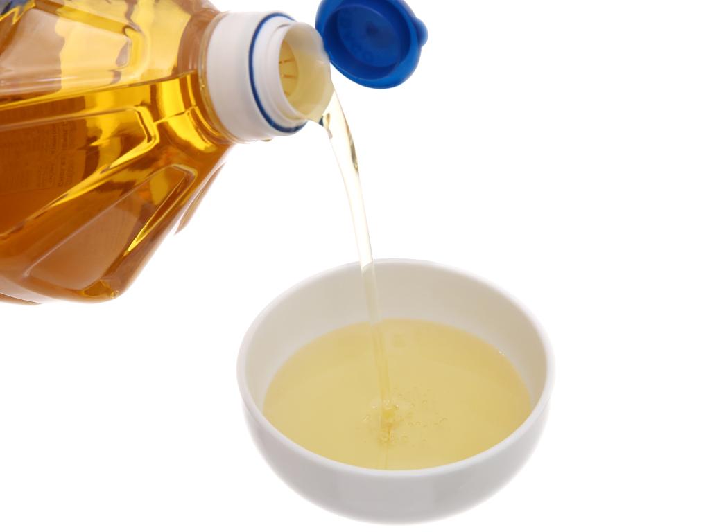 Dầu thực vật hương mè Nakydaco chai 2 lít 4