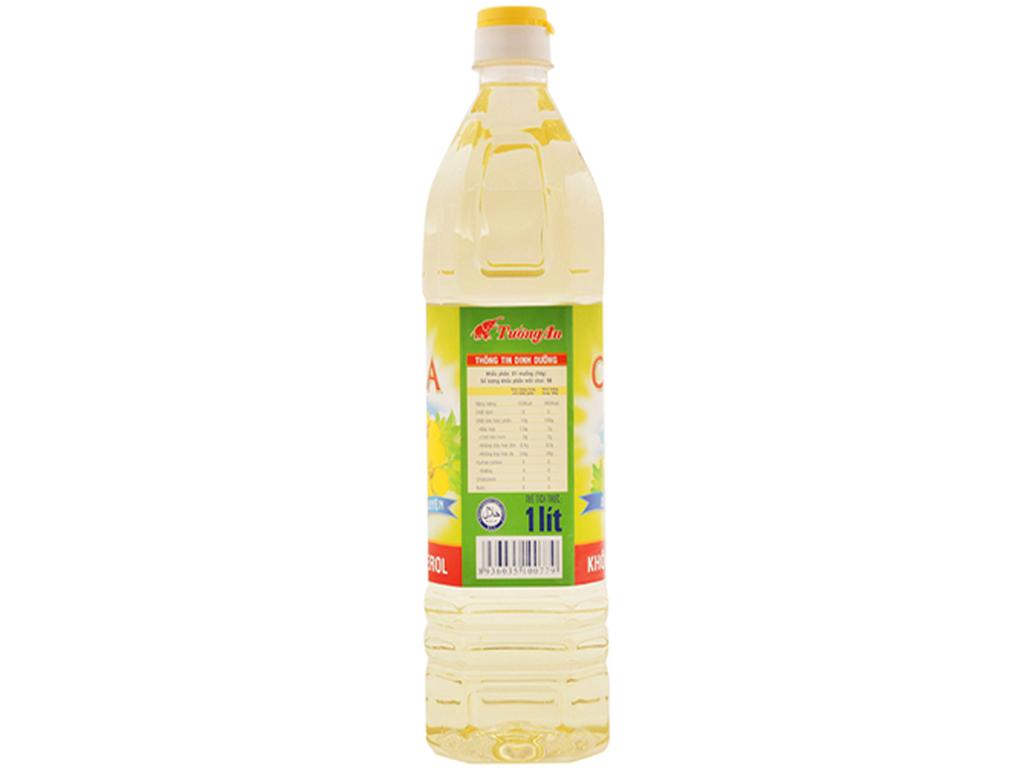Dầu hạt cải Canola chai 1 lít 3