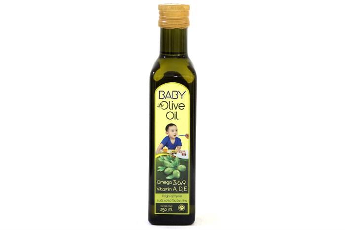 Dầu olive Tường An Baby chai 250ml 1