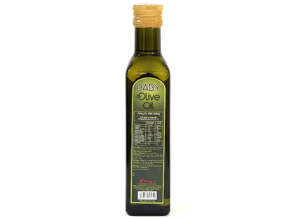 Dầu olive Tường An Baby chai 250ml 2