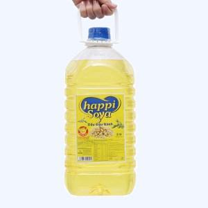 Dầu đậu nành Happi Soya can 5 lít