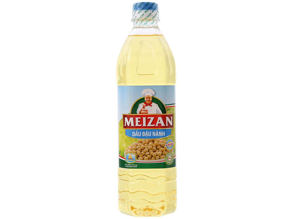 Dầu đậu nành Meizan chai 1 lít 1