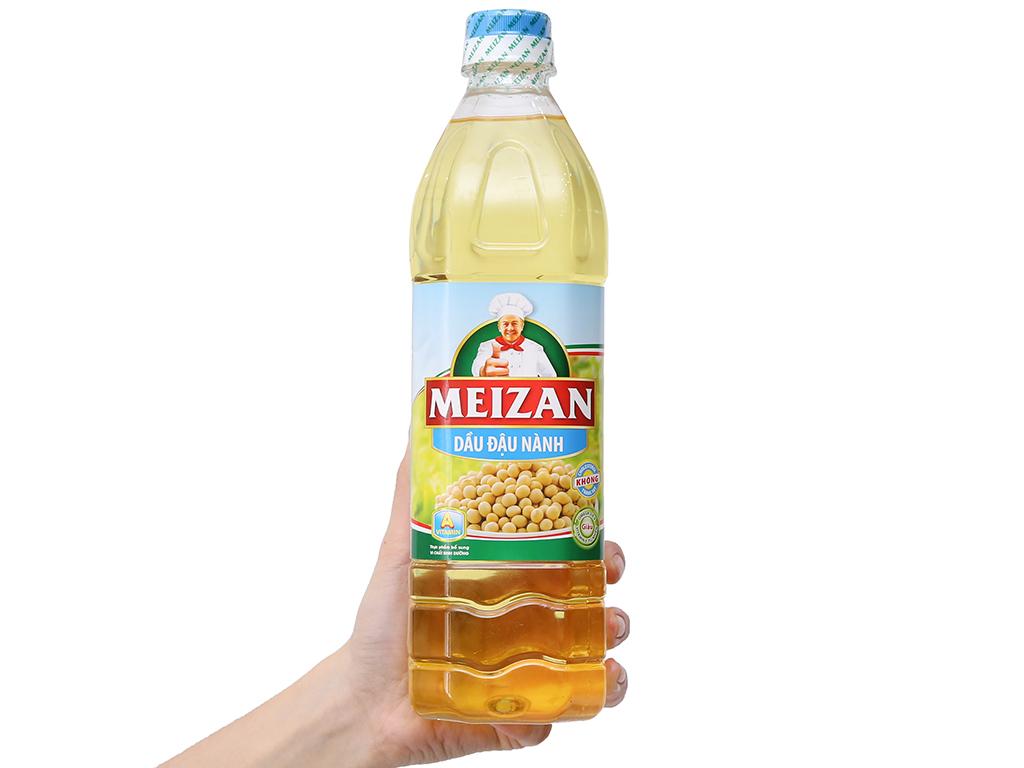 Dầu đậu nành Meizan chai 1 lít 3