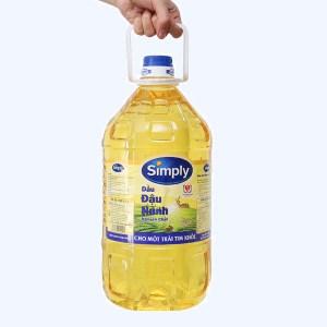 Dầu đậu nành nguyên chất Simply can 5 lít