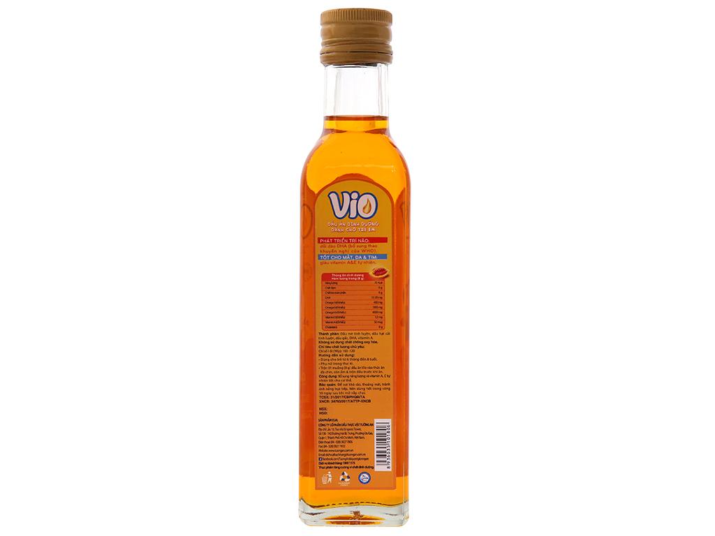 Dầu gấc cho bé Tường An Vio Extra chai 250ml 2
