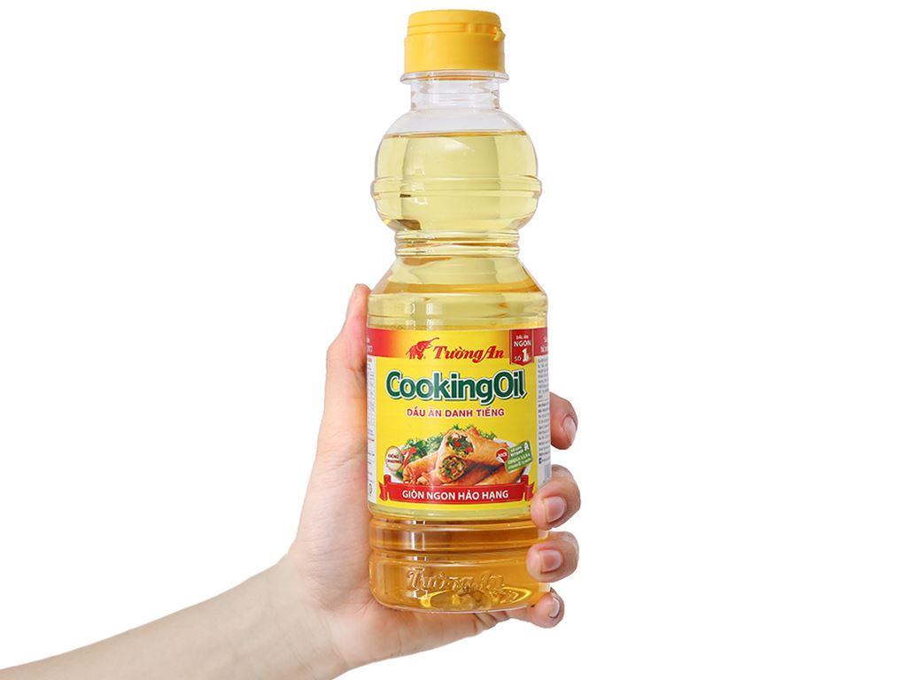 Dầu thực vật Tường An Cooking oil chai 400ml 3