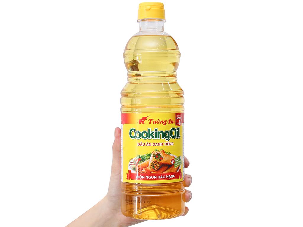 Dầu thực vật Tường An Cooking oil chai 1 lít 3