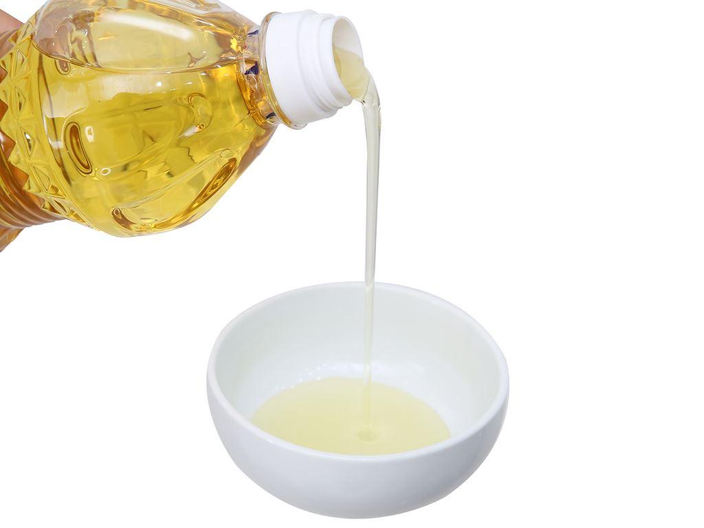 Dầu thực vật Nakydaco Cooking oil 400ml 4
