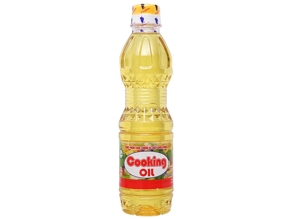 Dầu thực vật Cooking Oil Nakydaco chai 400ml 1