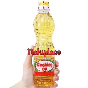Dầu thực vật Cooking Oil Nakydaco chai 400ml