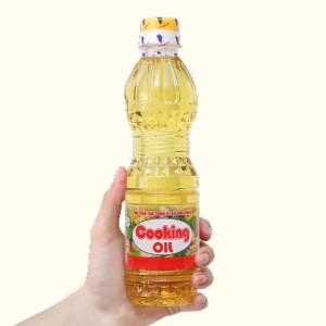 Dầu thực vật Nakydaco Cooking Oil Nutri Plus chai 400ml