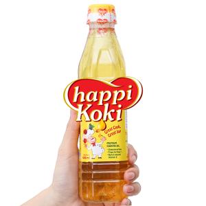 Dầu ăn cao cấp Happi Koki chai 400ml