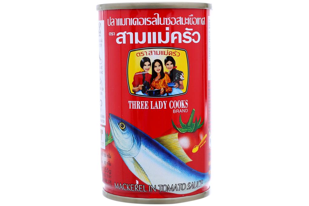 Cá nục xốt cà 3 cô gái 155g