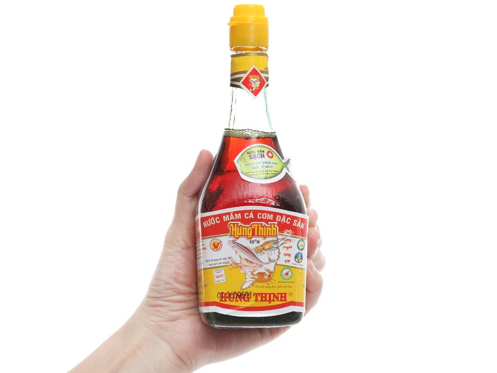 Nước mắm Hưng Thịnh đặc sản 40 độ đạm chai 220ml 3