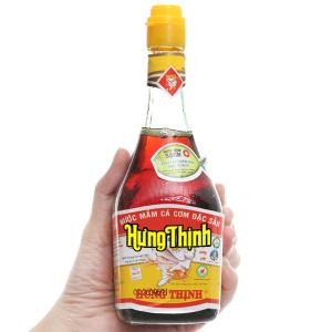 Nước mắm cá cơm đặc sản Hưng Thịnh 40 độ đạm chai 220ml